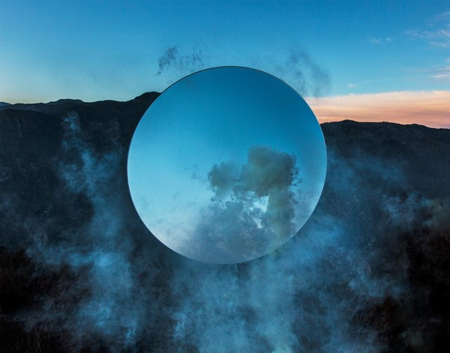 Kevin Cooley, 'Circle, San Gabriel Mountains', 2019, Catharine Clark Gallery