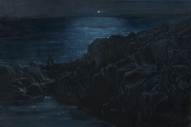 , 'Night Fishing ~ Bailey Island, Harpswell, ME,' 2018, The Guild of Boston Artists