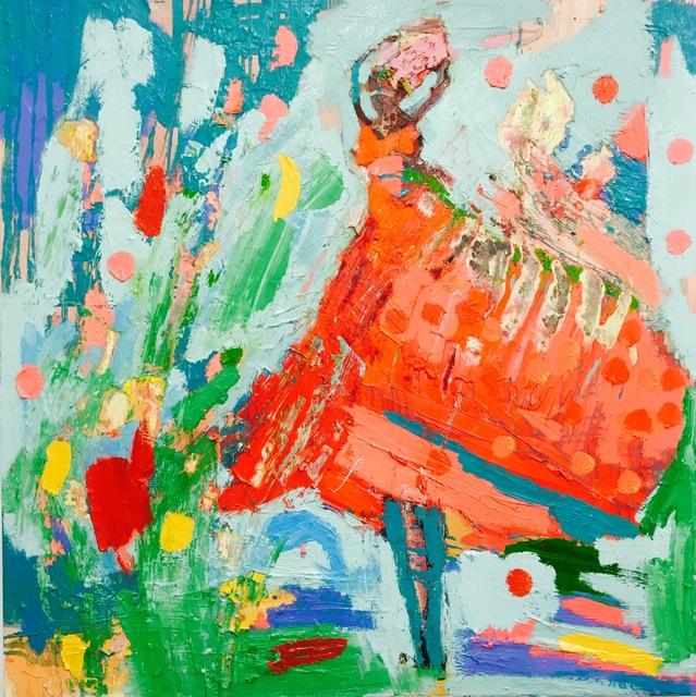 Paul Wadsworth, 'Red Dancer', White Court Art