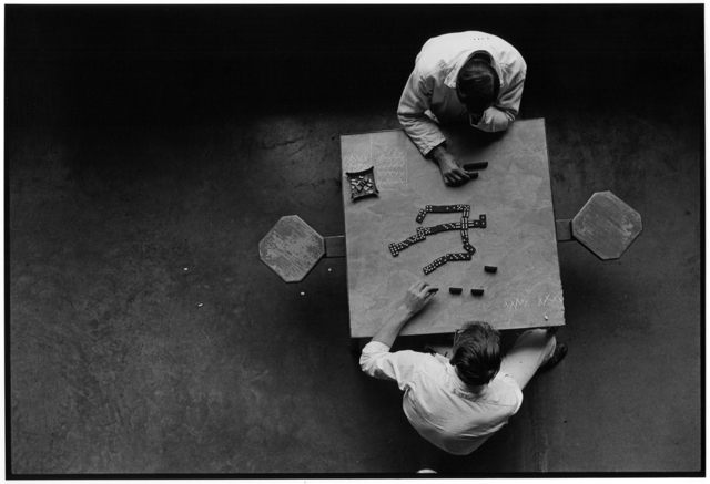 , 'Dominoes, Cell Block Table, The Walls, Texas Department of Corrections,' 1968, Etherton Gallery
