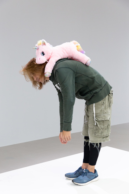 Erwin Wurm, 'One Minute Sculpture: Theory of Hope', 2016/2018, Sculpture, Instruction drawing, stuffed animal and realized by public, KÖNIG GALERIE