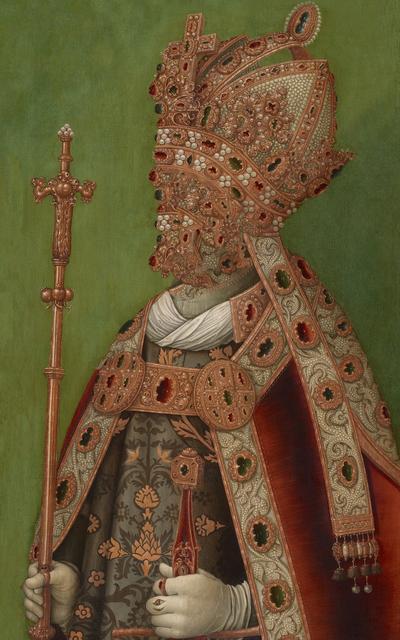 , 'caput # 03 / 4397, based on: KAISER FRIEDRICH III. (1415–1493), ascribed to Deutsch, 16th cent.,' 2018, Galerie Reinthaler