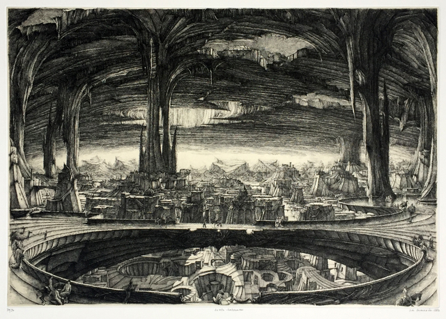 , 'Ville souterraine,' 1982, Childs Gallery