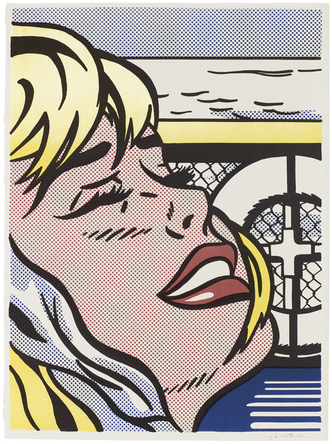 Roy Lichtenstein, 'Shipboard Girl', 1965, Print, Offset lithograph in colours on thin wove paper, Christie's