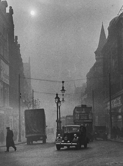 , 'London, Pea Souper,' 1936, Peter Fetterman Gallery