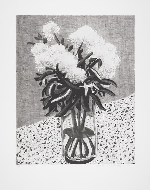 David Hockney, 'Peonies in a Glass Vase ', 1998, Lyndsey Ingram