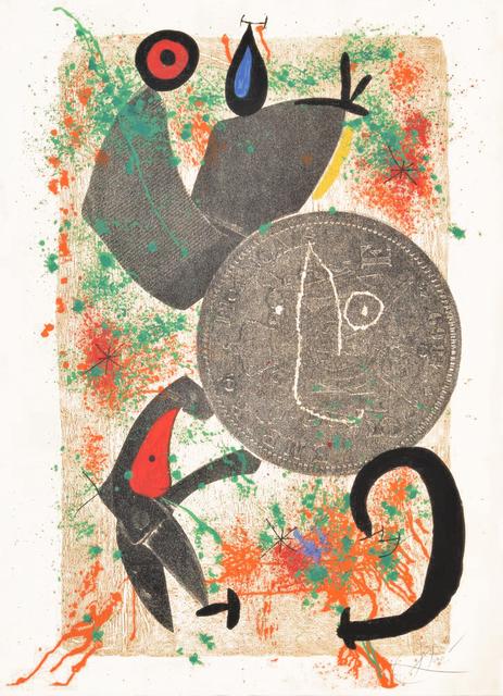 Joan Miró, 'Le Croc a Phynances II (The Crooked Phynancial Phang II)', 1971, Masterworks Fine Art