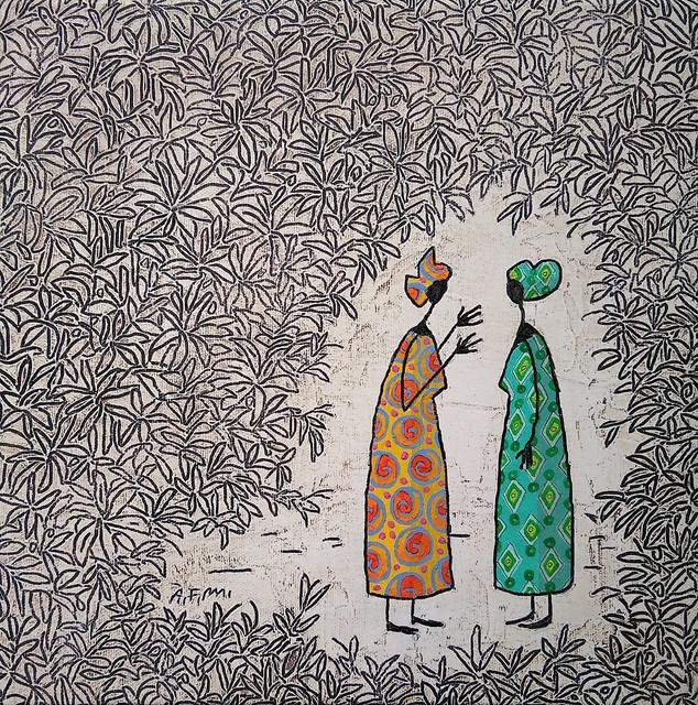 Àlvar Farré, 'Mbuni I', 2018, GALERIA JORDI BARNADAS