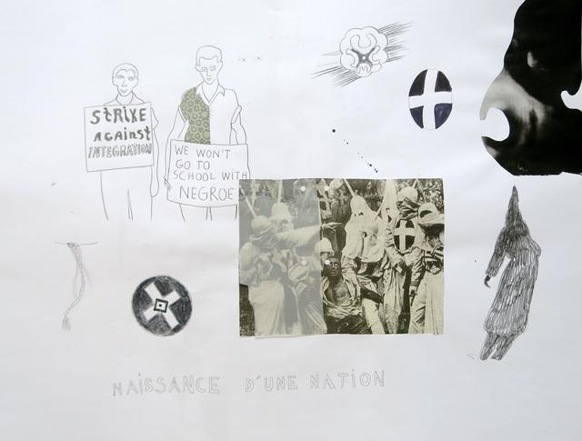 , 'Naissance d'une nation,' 2016-2017, Galerie Christophe Gaillard