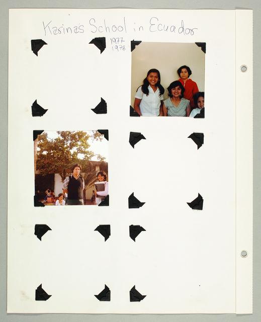 , 'Escuela Letras y Vida/ Life and Letters School,' 2009, Ponce + Robles
