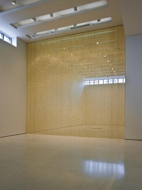 """Felix Gonzalez-Torres, '""""Untitled"""" (Golden)', 1995, Guggenheim Museum"""