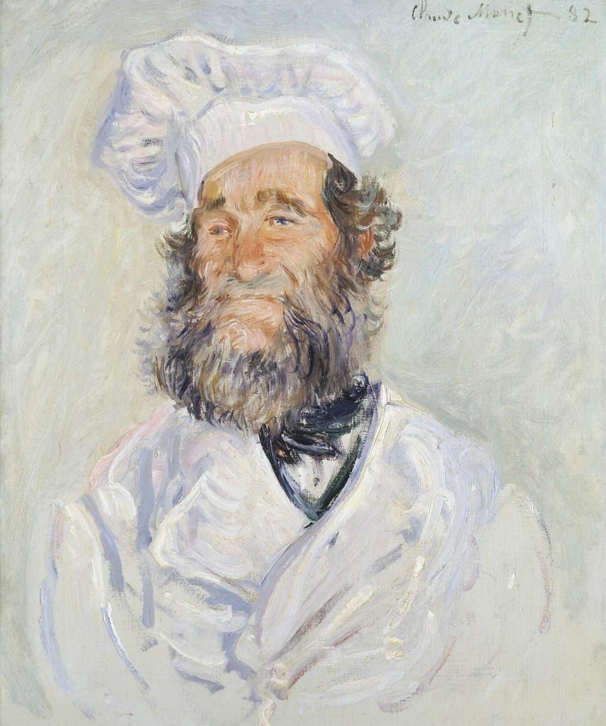 Claude Monet Der Koch Le Chef P¨re Paul 1882