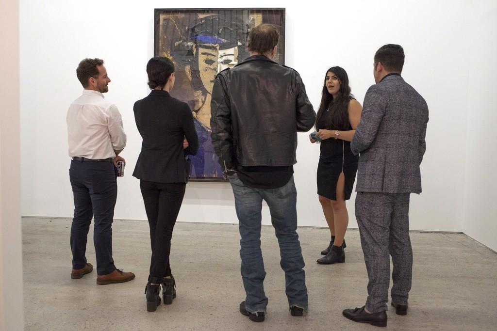 Manolo Valdes at BOCCARA ART Brooklyn Gallery