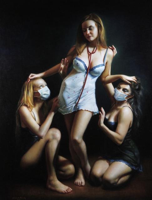 Rose Freymuth-Frazier, 'Three Nurses', 2011, Stone Sparrow NYC