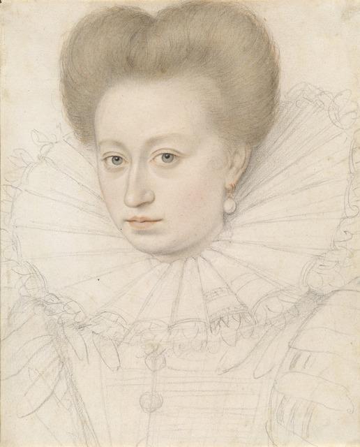 François Quesnel, 'Portrait of a Noblewoman (Madame de Pellegars?)', 1590/1595, National Gallery of Art, Washington, D.C.