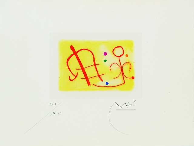 , 'Fusée (Yellow),' 1959, Sims Reed Gallery