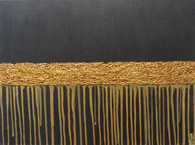 , 'Golden Tears,' 2016, Carter Burden Gallery