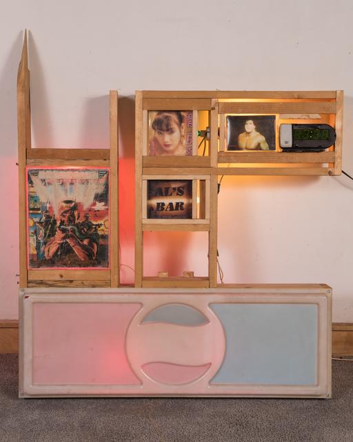 Alan Vega, 'Al's bar', 1994, Sculpture, Mixed media, Galerie Laurent Godin