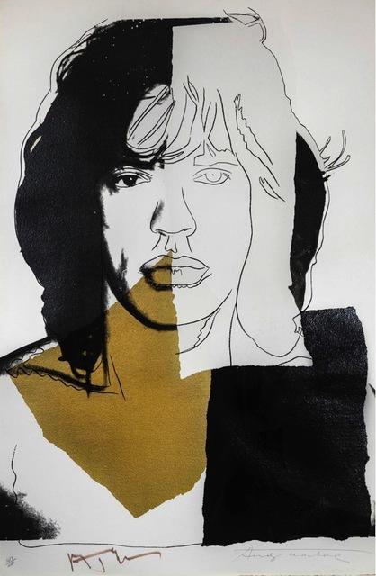 , 'Mick Jagger FS II.146,' 1975, Gregg Shienbaum Fine Art