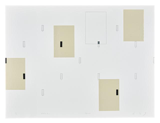 , 'Utopia 18-2,' 2018, Cahiers d'Art