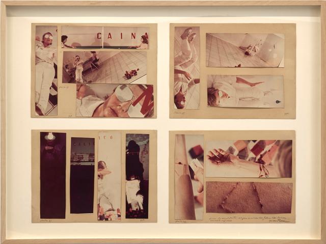 Gina Pane, 'Io mescolo tutto: Cocaina e Frà Angelico ', 1976, OSART GALLERY