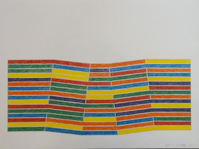 Frank Stella, 'Furg', 1975, Long-Sharp Gallery