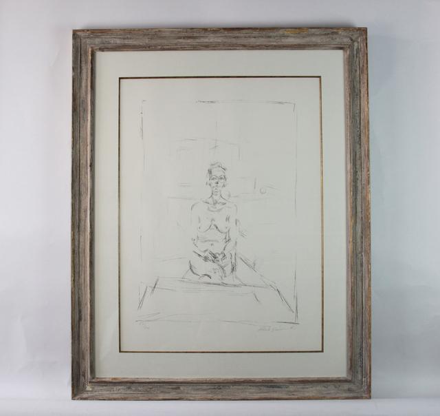 , 'Seated Nude (Nu Assis),' 1965, Fólio Livraria