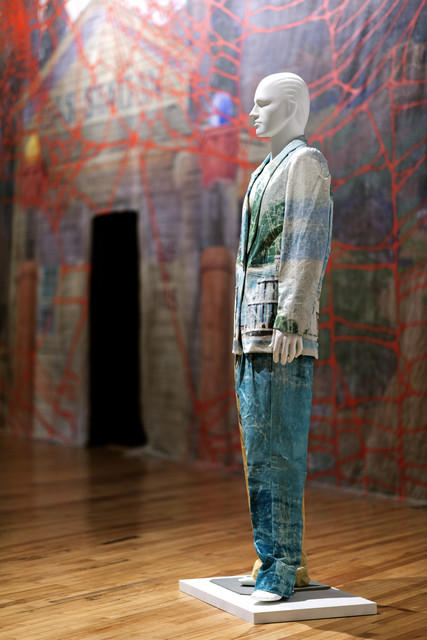 , 'Mississippi River Suit,' 2013, MASS MoCA