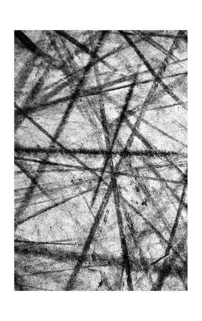 Eugène Riconneaus, 'SKATEBOARDER TRACKS 4', 2015, Photography, UNDUN