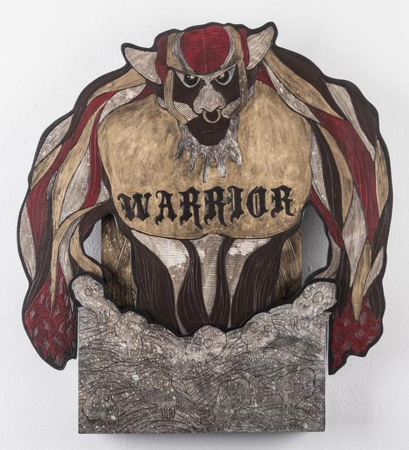 , 'Goliath (Warrior),' 2016, heliumcowboy