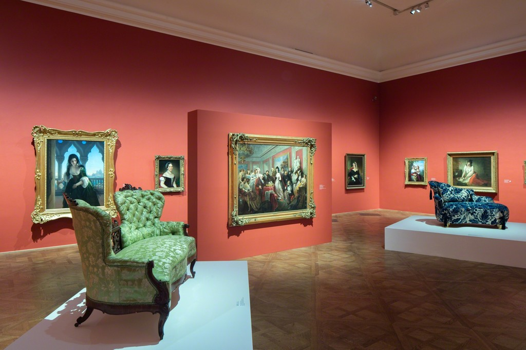 Exhibition View Is That Biedermeier?, Photo: © Belvedere, Vienna, 2016