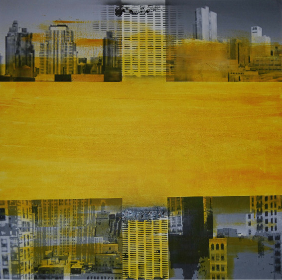 , 'Welcome to Yellow City,' 2014, Artêria