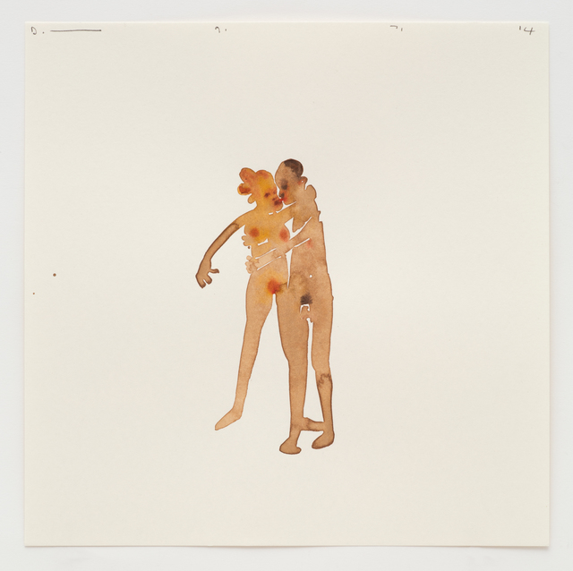 , 'Couple Kissing 9.7.14,' 2014, Ingleby Gallery