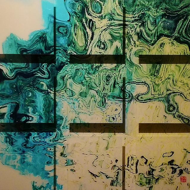 , 'Spring Water《春来江水绿如蓝》,' 2017-2018, Independent & Image Art Space
