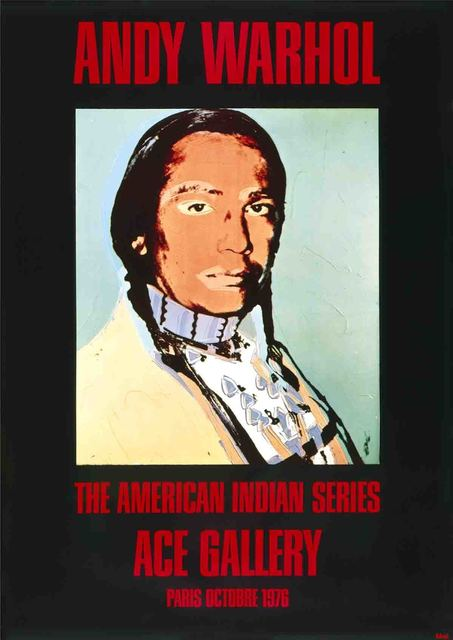 Andy Warhol, 'American Indian (Black)', 1976, ArtWise