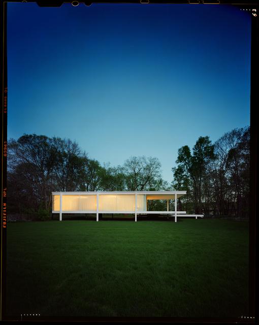 , 'Mies van der Rohe Farnsworth House, Dusk,' 2016, Danziger Gallery