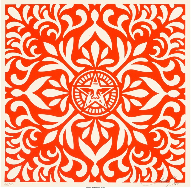Shepard Fairey (OBEY), 'Japanese Fabric Pattern Set (two works)', 2009, Heritage Auctions