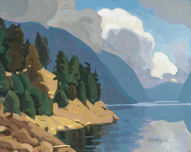 , 'Carpenter Lake,' , Madrona Gallery