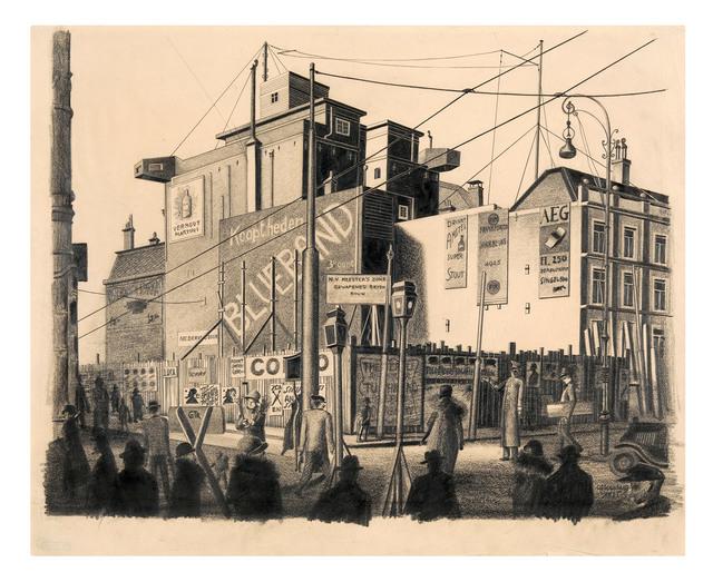 , 'Amsterdam, Muntplein,' 1925, Galerie Michael Hasenclever KG