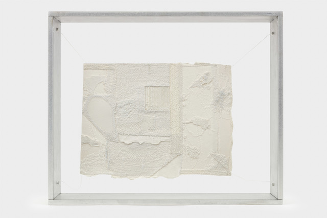 Sabrina Gschwandtner, 'Sewn Paper Drawing #2', 2005, Mixed Media, Paper, thread, aluminum, American Folk Art Museum Benefit Auction