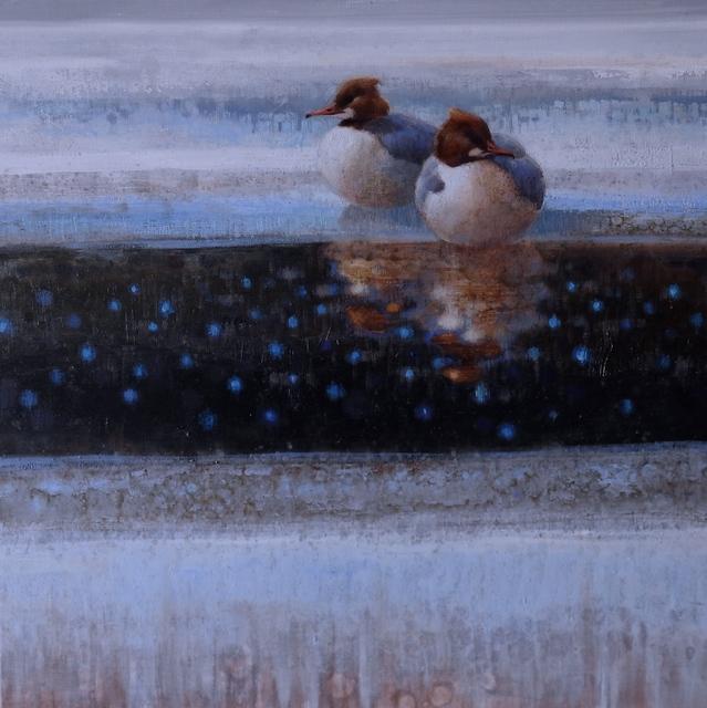 , 'Resting on Ice #1 (Mergansers),' , Gerald Peters Gallery Santa Fe