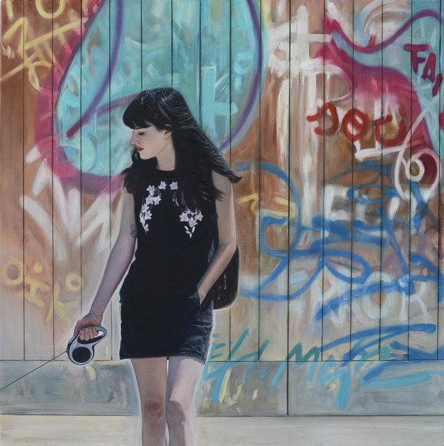, 'Girl with Black Dress,' 2018, Albemarle Gallery | Pontone Gallery