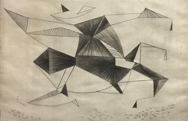 , 'Bird Machine #1,' 1952, Susan Teller Gallery