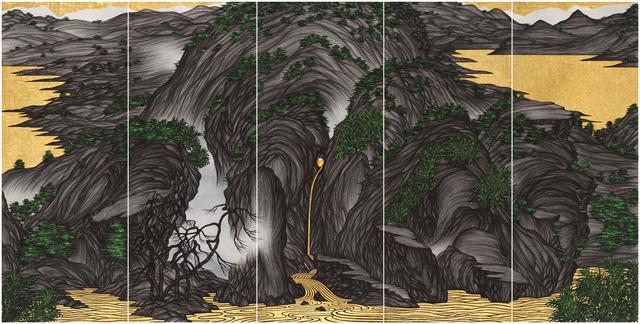 , 'Brain Landscape II: Locus  ,' 2015, Tina Keng Gallery