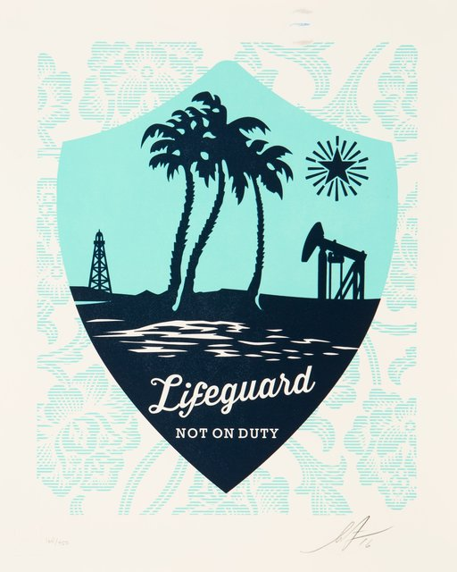 Shepard Fairey, 'Lifeguard Not on Duty', 2016, Heritage Auctions