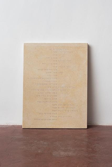 , 'Time Stone,' 2014, Dvir Gallery