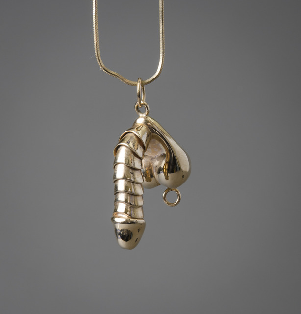 , 'Erectable Penis Pendant Necklace,' 20th/21st century, Hieronymus