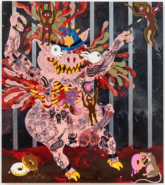 , 'Demon Pig,' 2015, Gallery Poulsen