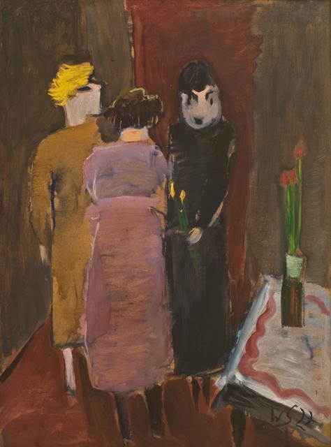 , 'Geburtstag (Birthday),' 1927, Hagemeier