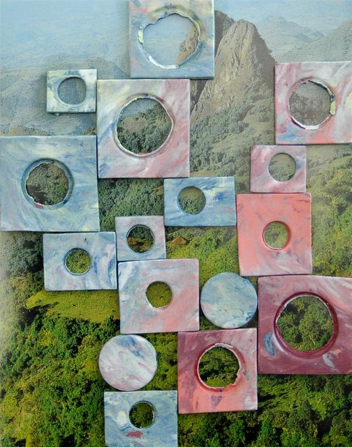 Marjolijn De Wit, 'Evidence of their existence #27', 2013, Mixed Media, Piezography and ceramics, OTTO ZOO
